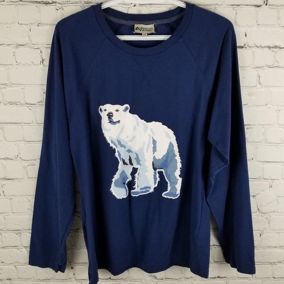 MOUNTAIN RIDGE | polar bear long sleeve shirt